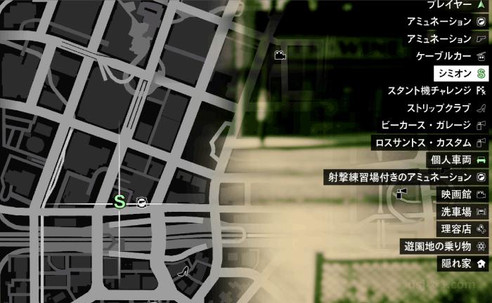 GTA5『運命の仕事』シミオンのカーディーラーへ向かう