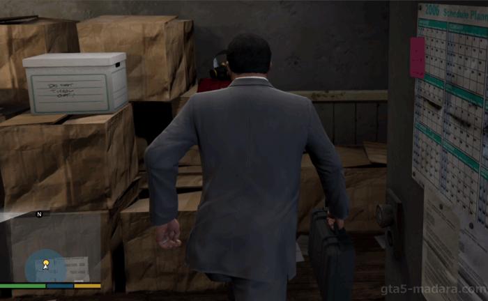 GTA5ストーリーミッション『BZガス手榴弾』催涙ガスを置く