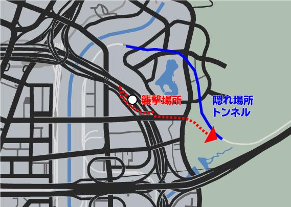 GTA5ストーリーミッション『カービンライフル』隠れ場所
