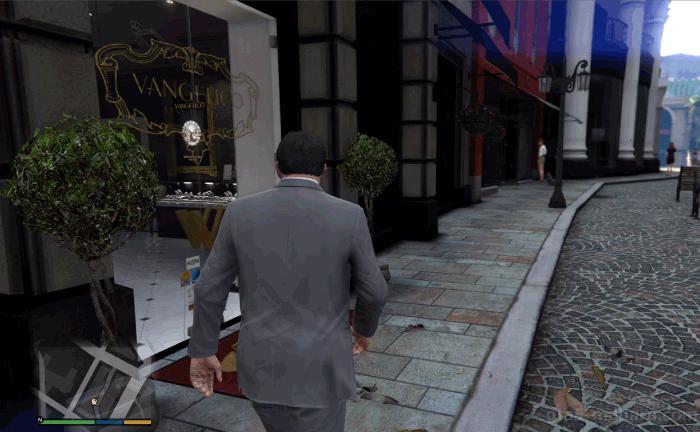 GTA5ストーリーミッション『宝石店の調査』VANGELICO