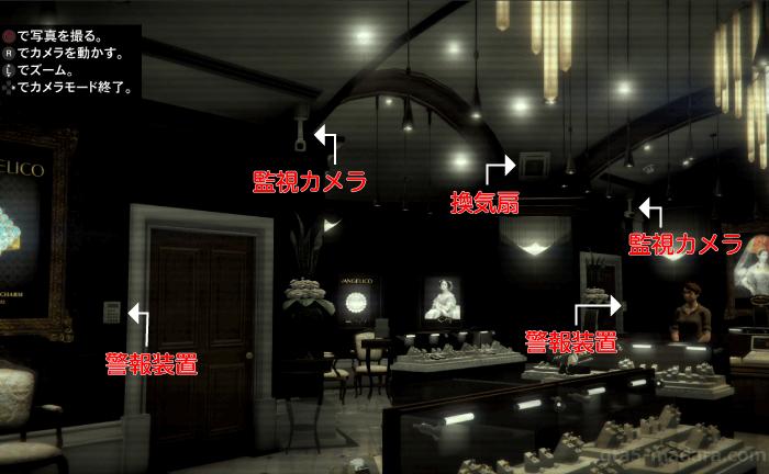 GTA5ストーリーミッション『宝石店の調査』店内の撮影