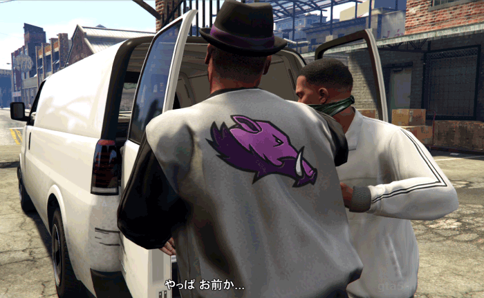 GTA5ストーリーミッション『チョップ』Dを連れ去る