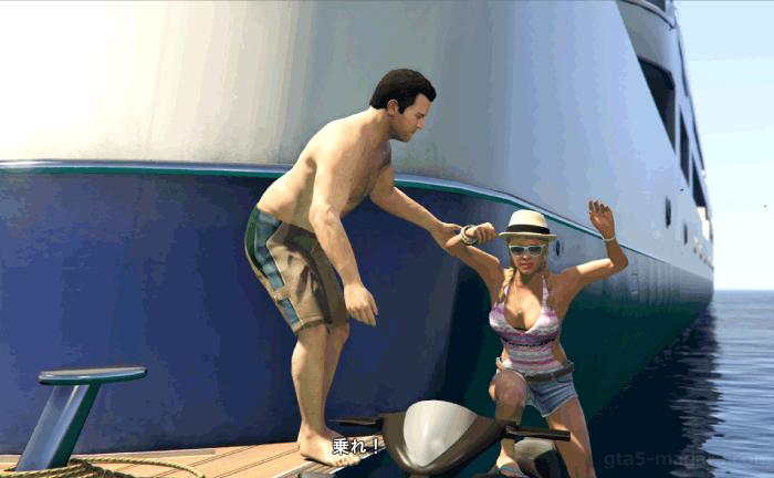 GTA5ストーリーミッション『パパの愛娘』トレイシーを連れ戻す
