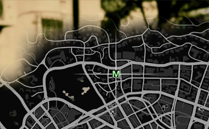 GTA5メインストーリーミッション『父と子』発生場所