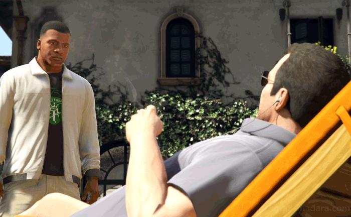 GTA5メインストーリーミッション『父と子』マイケルを訪ねる