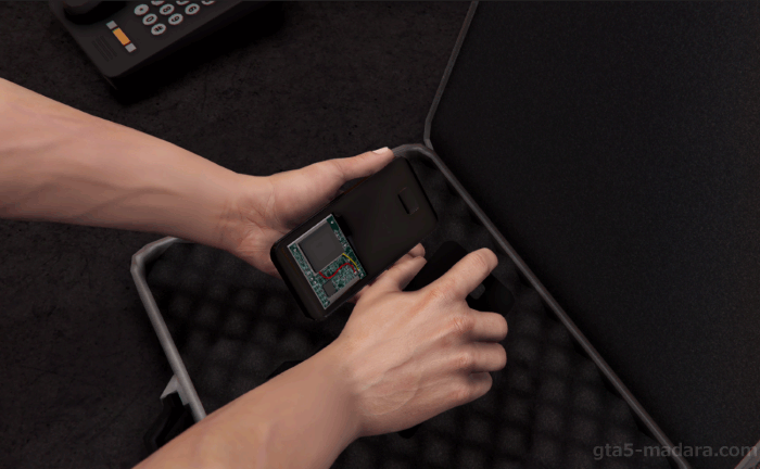 GTA5ストーリーミッション『フレンド・リクエスト』試作機に細工