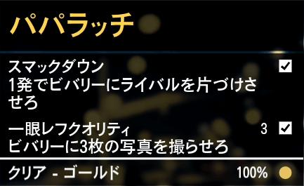 GTA5不審者と変質者『パパラッチ』ゴールド取得条件