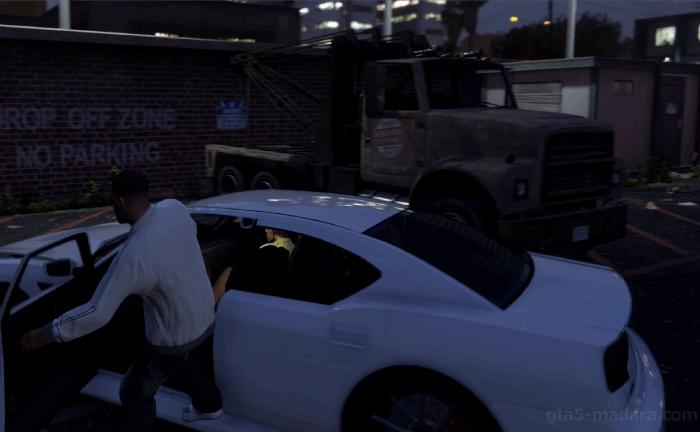 GTA5不審者と変質者『めんどくさい友人』下車位置