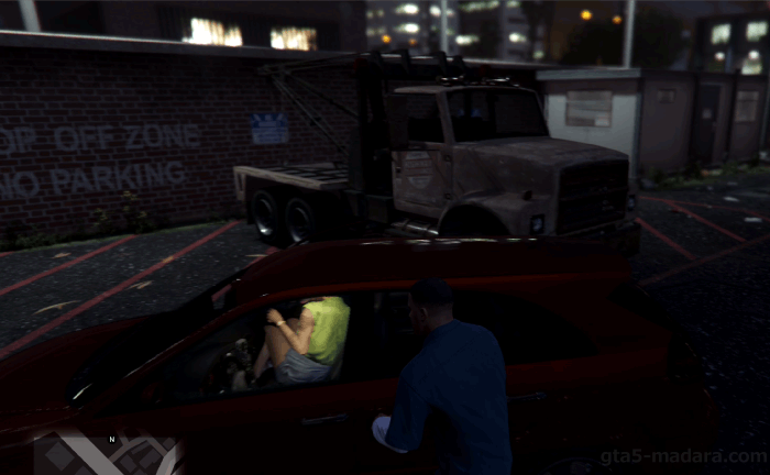 GTA5不審者と変質者『引きずる友人』時間短縮法