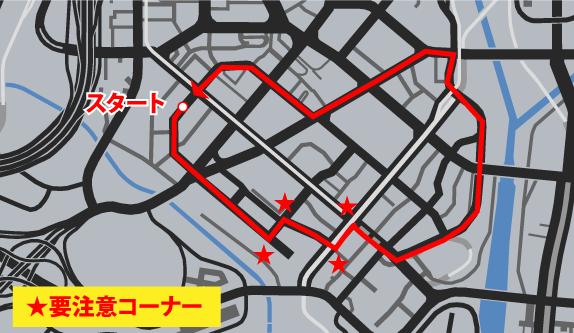 GTA5不審者と変質者『シフトワーク』コースマップ