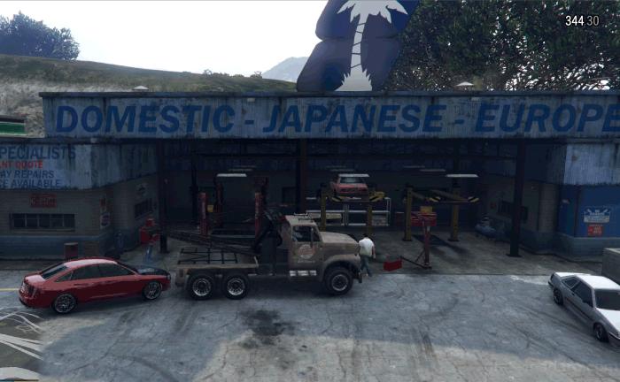 GTA5不審者と変質者『うざったい友人』修理工場