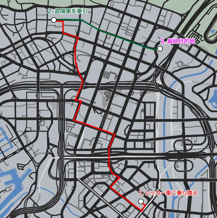 GTA5不審者と変質者『うざったい友人』ミッションルート