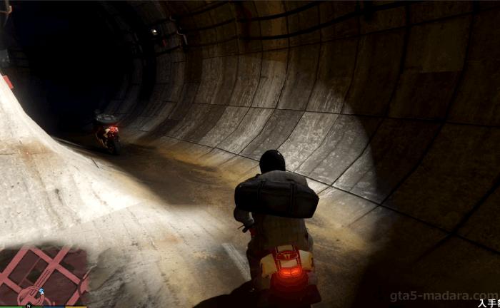 GTA5ストーリーミッション『強盗:宝石店(派手)』地下通路