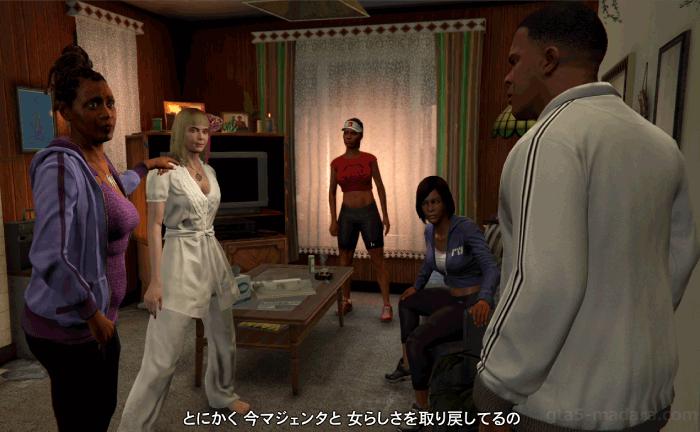GTA5ストーリーミッション『宝石店の調査』開始場所