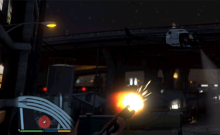 GTA5ストーリーミッション『ストレッチワーク』警察の手配