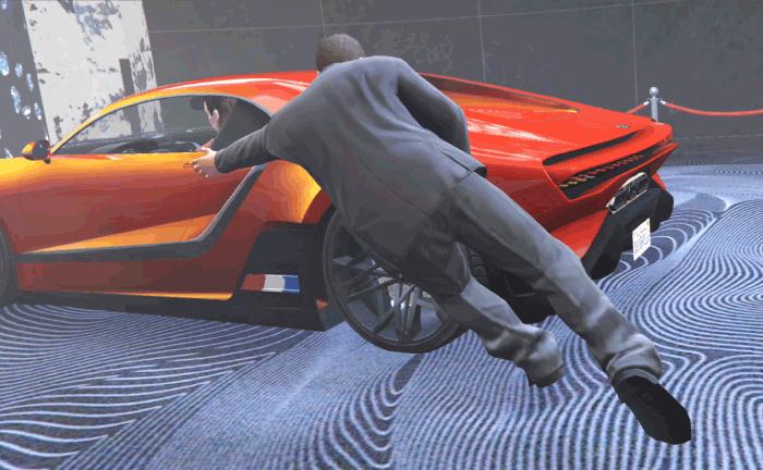GTA5カジノアップデート『カジノ:清掃業務』トラクスを盗難する