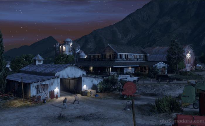 GTA5ストーリーミッション『結晶の迷宮』密造所