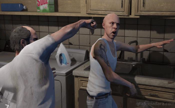 GTA5ストーリーミッション『結晶の迷宮』オニール一味を全滅