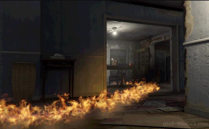 GTA5ストーリーミッション『結晶の迷宮』ガソリンに引火させる