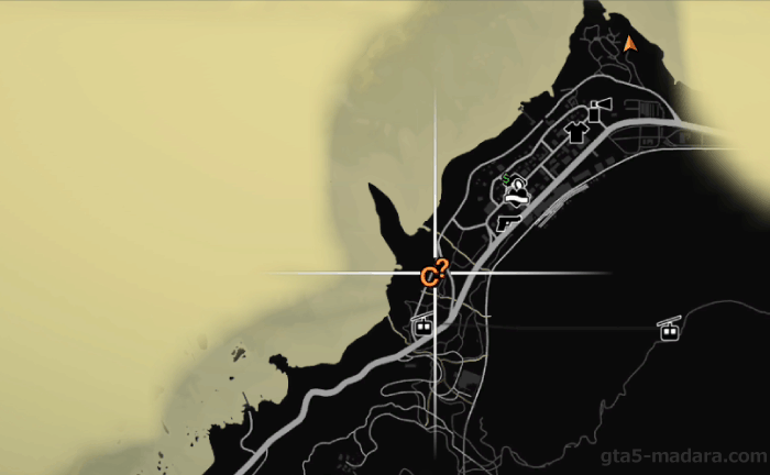 GTA5不審者と変質者『フェアゲーム』マップ