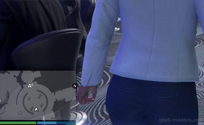 GTA5オンライン『カジノ:チェン救出』ミッション発生場所