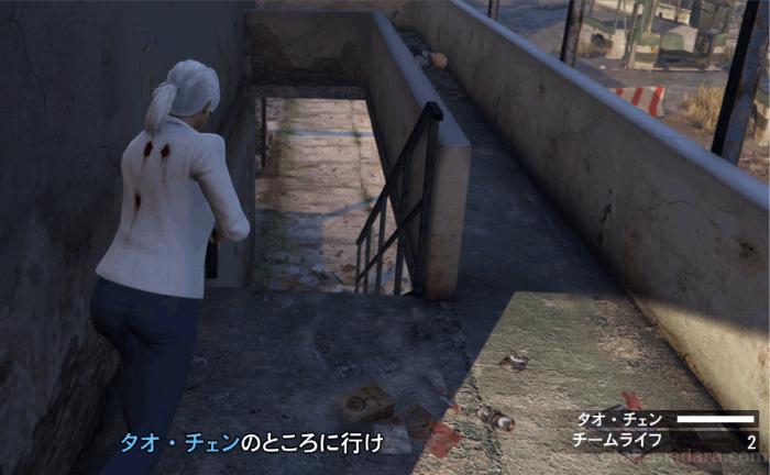 GTA5オンライン『カジノ:チェン救出』廃モーテルから脱出する