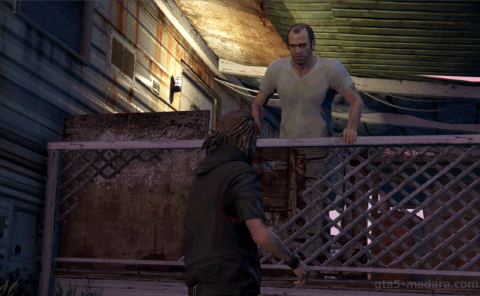 GTA5ストーリーミッション『見つかった男』マイケル・タウンリーを探せ
