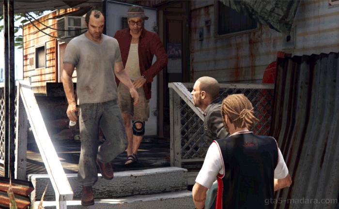 GTA5ストーリーミッション『ミスター・フィリップス』バイカーのジョニー