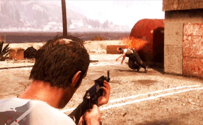 GTA5不審者と変質者『妄想ミッション1:田舎者』25人以上倒す