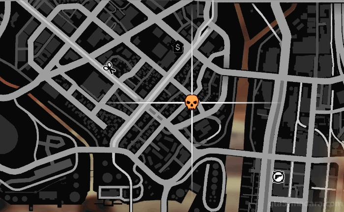 GTA5不審者と変質者『妄想ミッション2:バゴス』ミッション発生場所