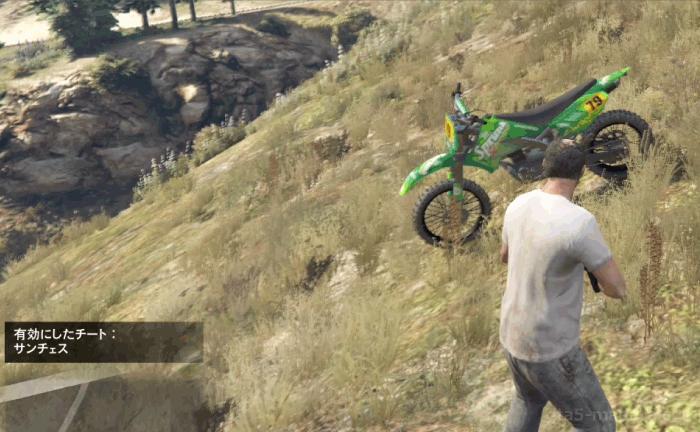 GTA5不審者と変質者『特別な絆』チートコードでバイクを入手