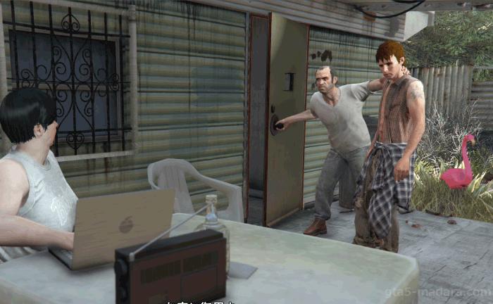GTA5不審者と変質者『特別な絆』ラリーをモードの元へ連れて行く