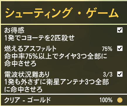 GTA5不審者と変質者『シューティング・ゲーム』ゴールド条件