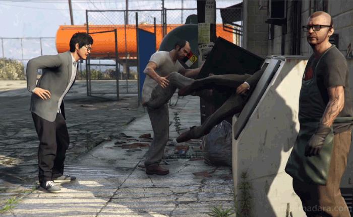 GTA5ストーリーミッション『トレバーフィリップス工業』安全な場所に隠す