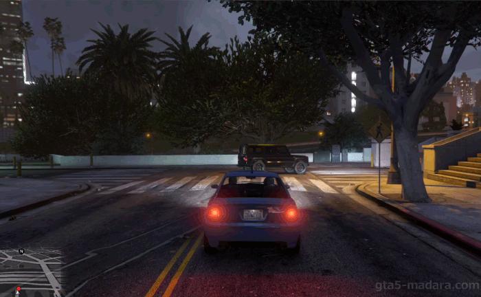 GTA5不審者と変質者『バインウッド土産:アル』アルを車で追いかける