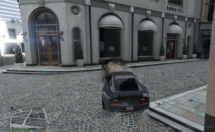 GTA5不審者と変質者『バインウッド土産:ケリー』車でブロックする