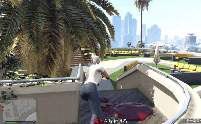 GTA5カジノアップデート『カジノ:逆風』テラス下段の敵
