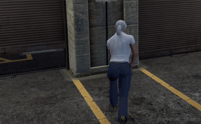 GTA5カジノの裏仕事『完全犯罪』キーパッドにアクセスする