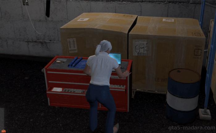 GTA5カジノの裏仕事『完全犯罪』メンバーの場所を特定する