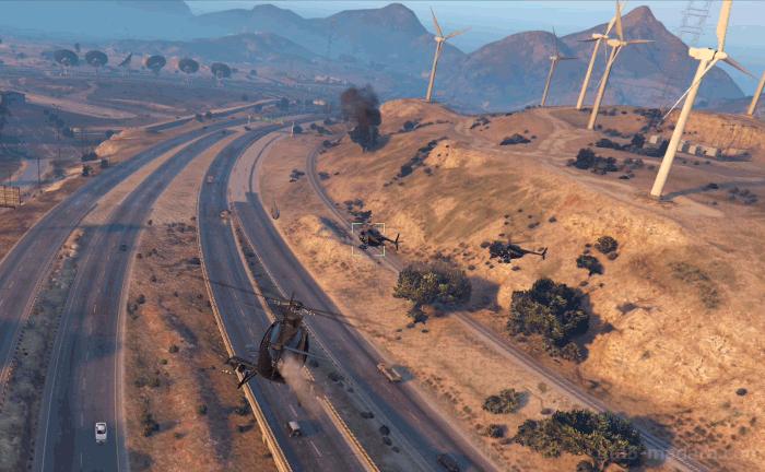 GTA5カジノアップデート『カジノ:清算』逃走用ヘリを撃墜する