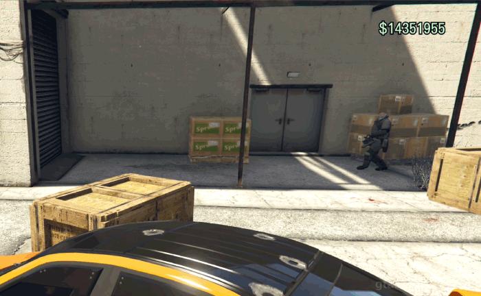GTA5カジノの裏仕事『警備班』リーダーを倒す