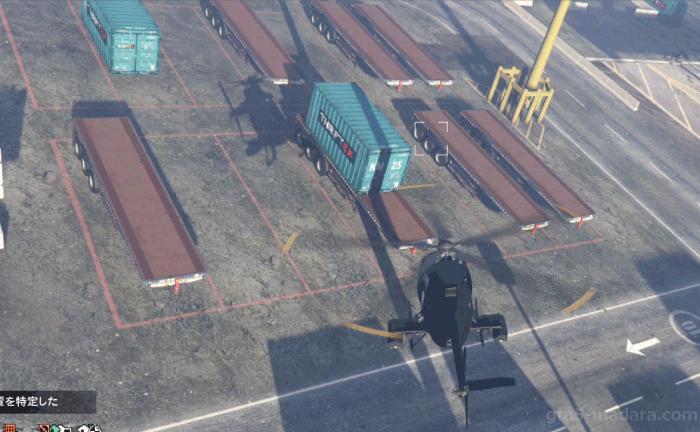 GTA5カジノの裏仕事『スロットマシン』コンテナを探す