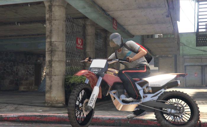 GTA5カジノの裏仕事『解雇』バイクで逃走する