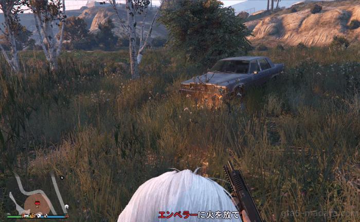 GTA5カジノの裏仕事『開封厳禁の貨物』エンペラーを燃やす