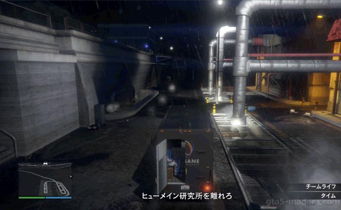 GTA5ヒューメイン研究所襲撃『EMP配達』研究所から脱出する