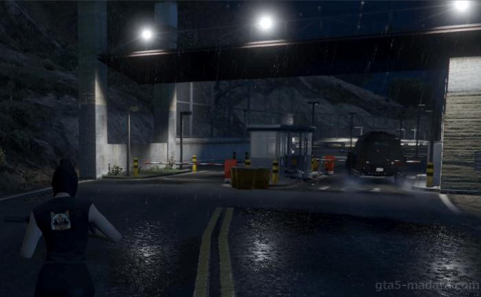 GTA5ヒューメイン研究所襲撃『EMP配達』インサージェントを運び込む