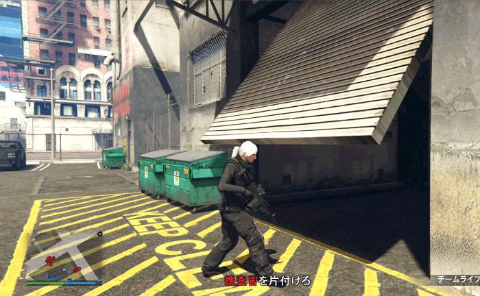 GTA5ヒューメイン研究所襲撃:キーコード シャッター付き駐車場