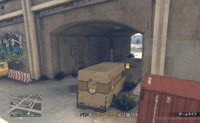 GTA5パシフィック銀行強盗『バン』バンを届ける