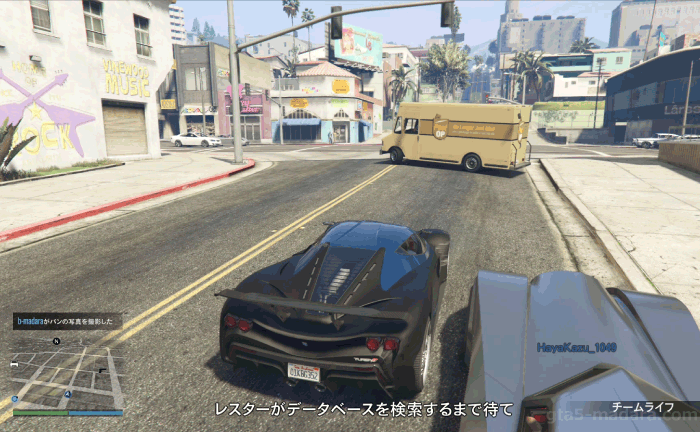 GTA5パシフィック銀行強盗『バン』レスターからの応答待ち