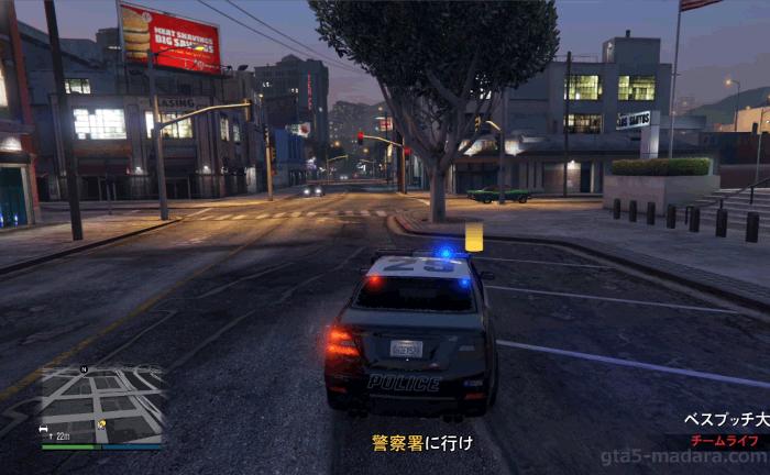 GTA5脱獄大作戦『警察署』警察署へ向かう